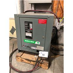 BATTERY-MATE AC500 FORKLIFT CHARGER, MODEL 880H3-24G 208/240/480 VOLT, 3 PHASE