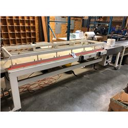 BELCO FILM PACKAGING SYSTEM WITH 9' CONVEYOR, MODEL ILS10022