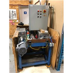 MOULTRIE TOOL & MFG. PNEUMATIC FABRICATION TOOL WITH ROUTER AND DRILL TOOLS, SERIAL NUMBER 8517