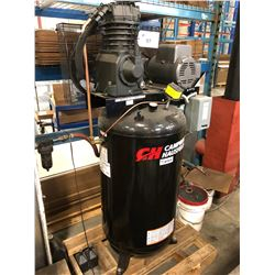 CAMPBELL HAUSFELD 7.5 HP, 80 GALLON COMPRESSOR, 1 PHASE, 230 VOLT