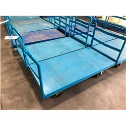 COMMANDER 5' X 2.5' FLAT WAREHOUSE CART