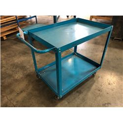 MOBILE 2 LEVEL WAREHOUSE CART