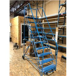 10 STEP MOBILE WAREHOUSE STAIRS
