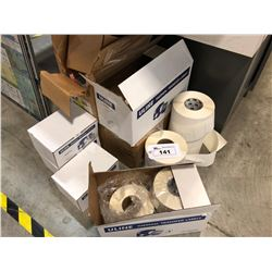 ASSORTED BLANK THERMAL TRANSFER LABELS