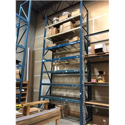 1 BAY OF 24' HEAVY DUTY PALLET RACKING
