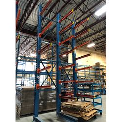 18' HEAVY DUTY CANTILEVER RACKING
