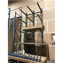 16' GREY HEAVY DUTY CANTILEVER RACKING