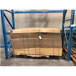 LOT OF CARDBOARD PACKING MATERIAL
