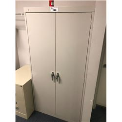 HON GREY 2 DOOR STORAGE CABINET