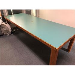 10 FT RECTANGULAR BOARDROOM TABLE