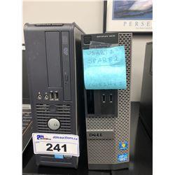 DELL OPTIPLEX 3010 & DELL PENTIUM DESKTOP COMPUTERS (NO HARD DRIVES)