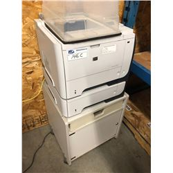 HP LASERJET P3015 PRINTER ON STAND