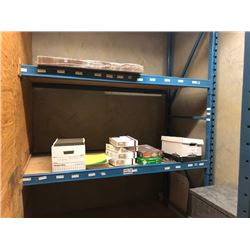 OFFICE SUPPLIES, WORK GLOVES, BANKER BOXES ETC (RACKING NOT INCLUDED)