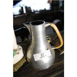 Real Dutch Pewter Pitcher