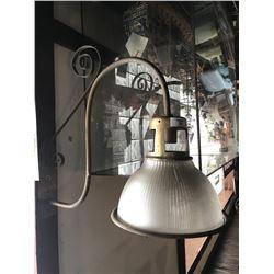 Antique Wall Mounted Brass Light Fixture