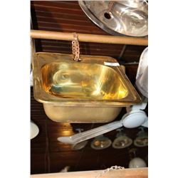 Brass Bar Sink