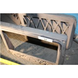 Grate (1902) & Louvered Grate