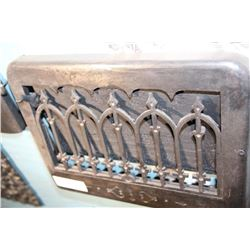 Louvered Cast Iron Grate