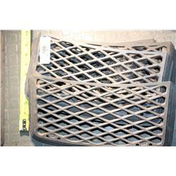 4 Cast Iron Grates