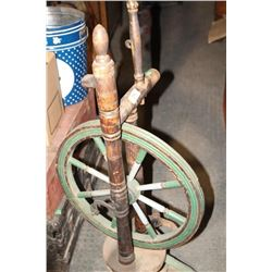 Complete Ornate Spinning Wheel