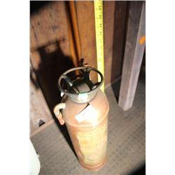 King Edward Hotel Copper Fire Extinguisher