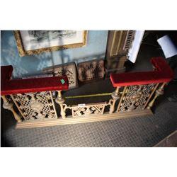 Brass & Copper Fireplace Guard