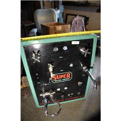 Super Brass Goods Cuthbert Enamel Display Panel
