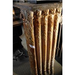 Original Ornate Cast Iron Hot Water Radiator