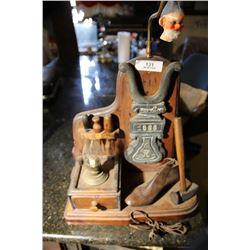 Cobbler Theme Wooden Lamp