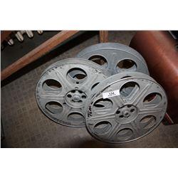 3 Film Reels