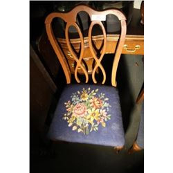 2 Needle Point Chairs