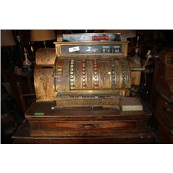 Ornate Antique National Cash Register