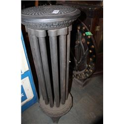 Rare Round Cast Iron Radiator
