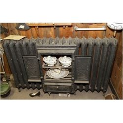Large Hot Water Radiator