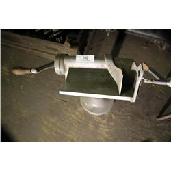 Hand Crank Meat Or Cheese Slicer