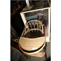 Antique Doll Chair