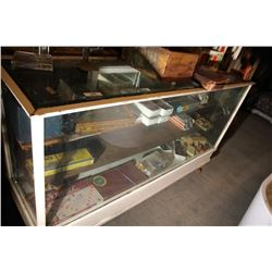 Old Display Cabinet Beveled Glass