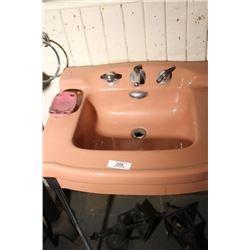 Pink(?) Sink