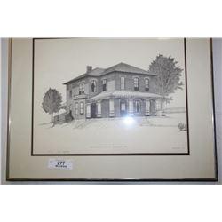 Lord Dufferin Hospital Orangeville, 1912