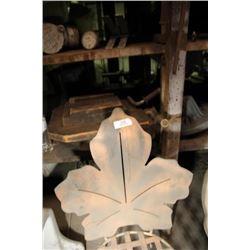 Metal Leaf Chair