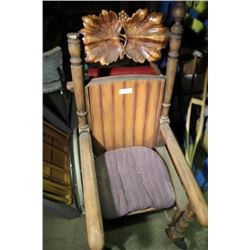 Wood Wheel Chair