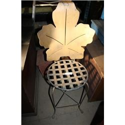 Metal Leaf Chair