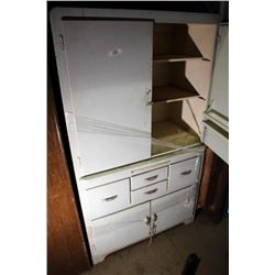 Old Kitchen Cabinet With Pull Out Shelf