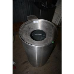 Stainless Round Garbage Can