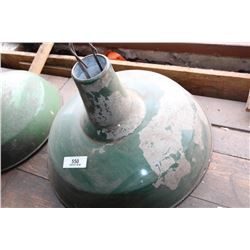 Industrial Light Fixture Green