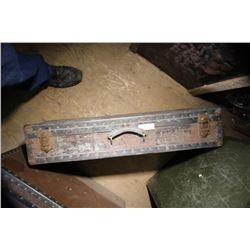 Rust Steamer Trunk