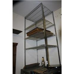 4 Shelf Chrome Rack