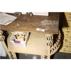 Wicker Base Table