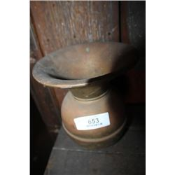 Brass Spittoon