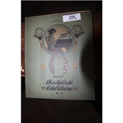 "Sheet Music Book ""Musikalische Edelsteine"""